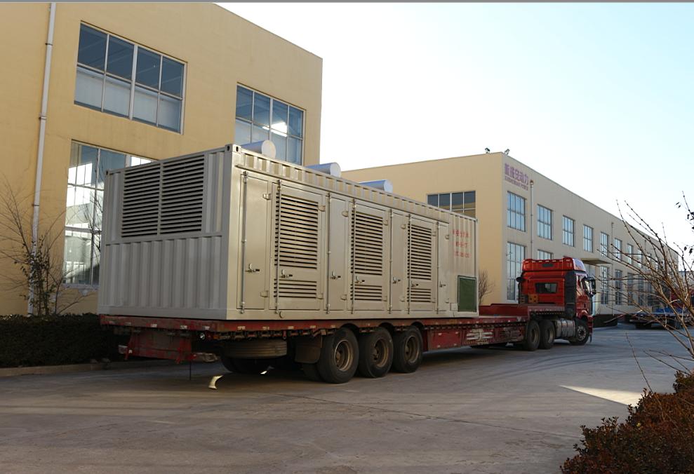xsapower gas power generator set