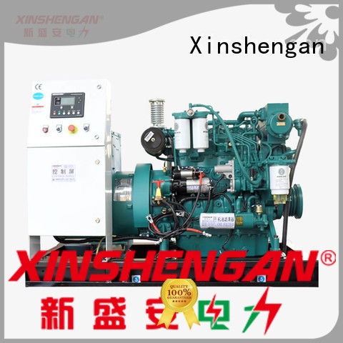 Xinshengan silent diesel gensets best manufacturer for vehicle