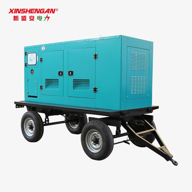 50KW Trailer Diesel Generator Set