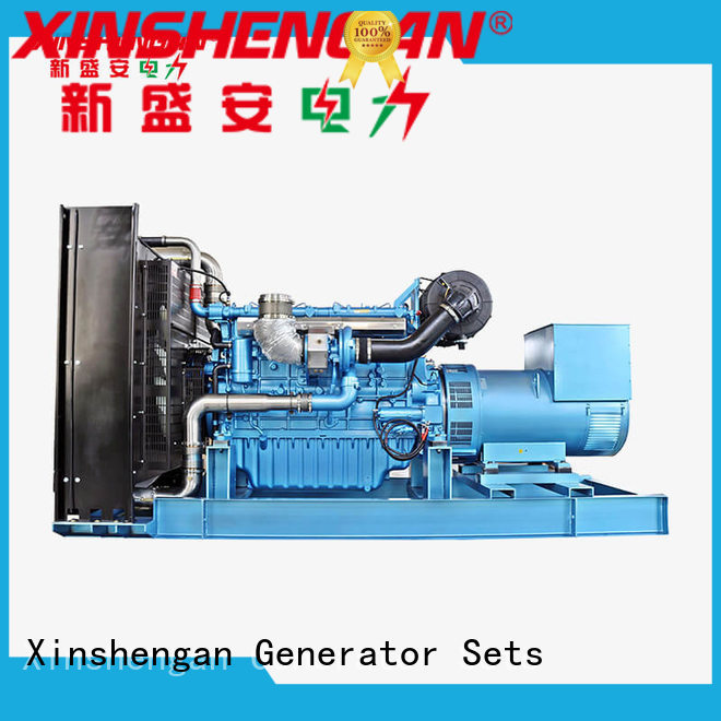 Xinshengan high quality genset diesel generator set from China for van