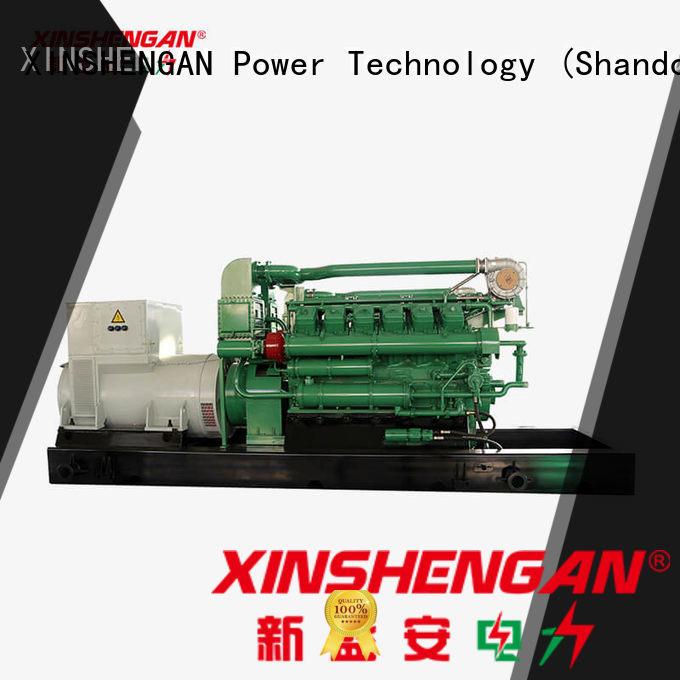 Xinshengan best price natural gas emergency generator supplier for machine
