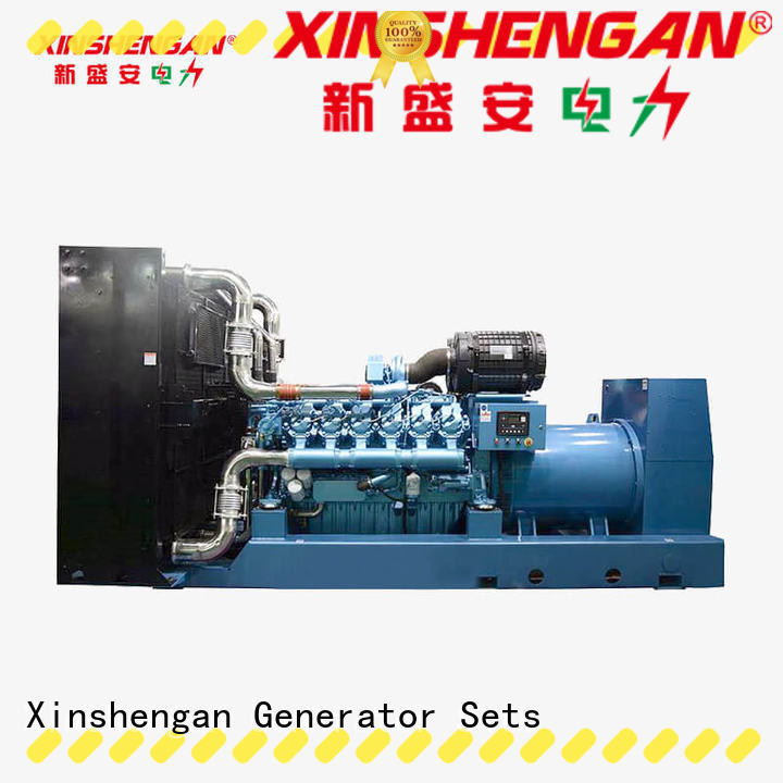 Xinshengan hot-sale diesel home backup generator inquire now for vehicle