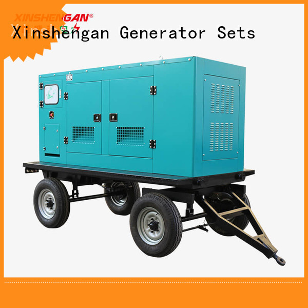 Xinshengan hot selling backup diesel generator commercial best manufacturer for van
