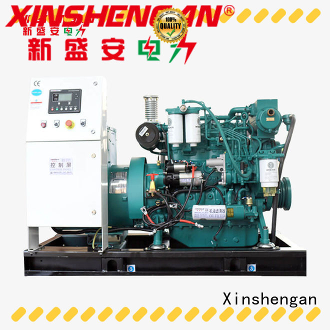 Xinshengan durable silent diesel generator wholesale for machanical use