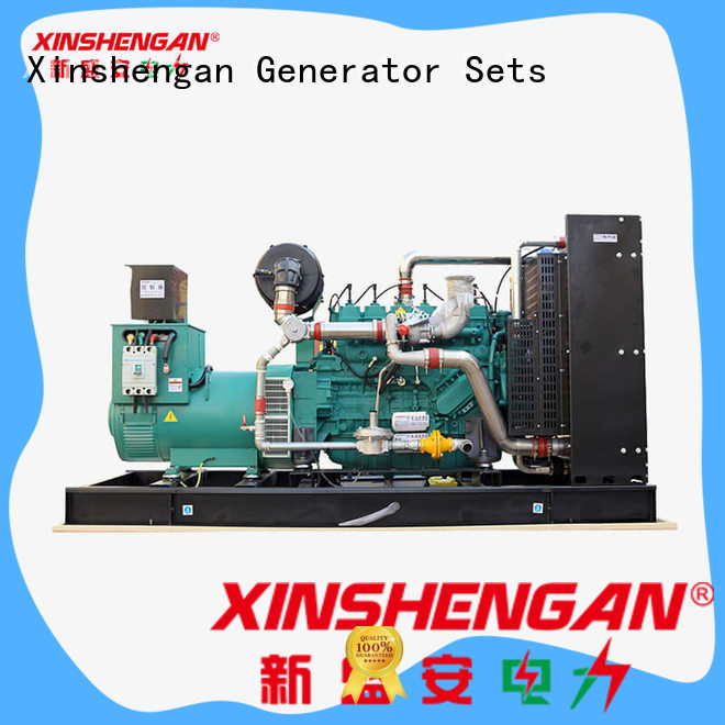 Xinshengan stable natural gas operated generators best supplier for truck