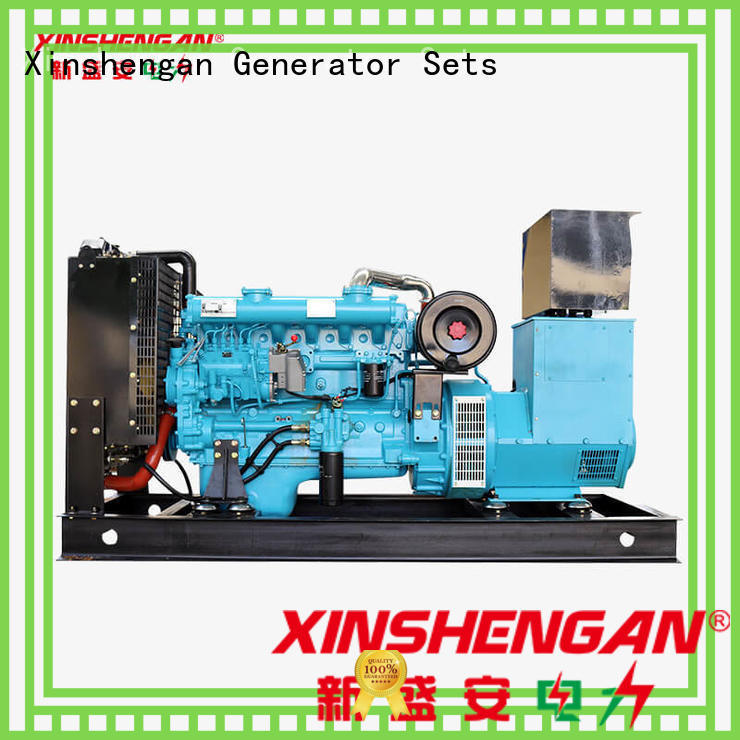energy-saving silent running diesel generators manufacturer for generate electricity
