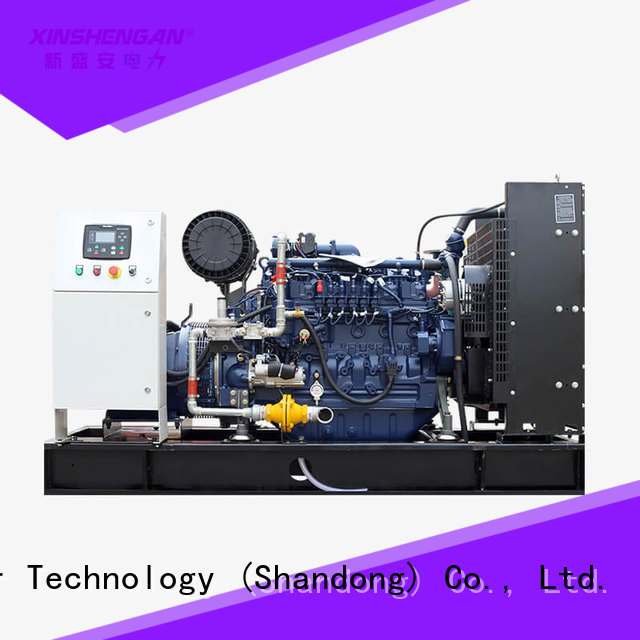 Xinshengan hot-sale natural gas powered portable generator factory direct supply for sale