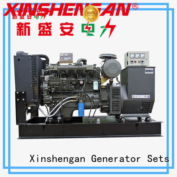Xinshengan low fuel consumption diesel generator company for machanical use