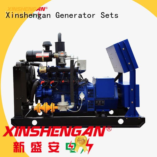 Xinshengan best price natural gas standby generator with good price for van