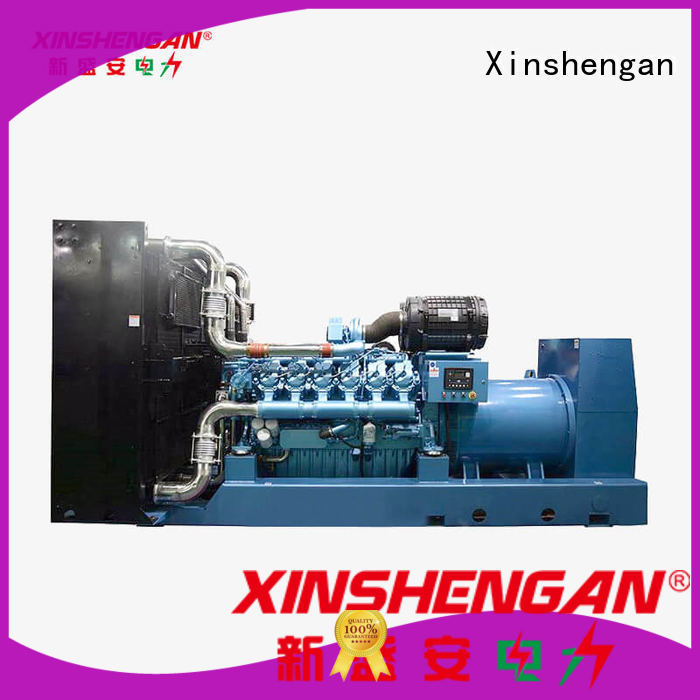 Xinshengan reliable silent running diesel generators with good price for power