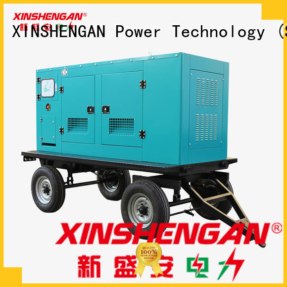 Xinshengan durable diesel generator 250 kw supplier for vehicle