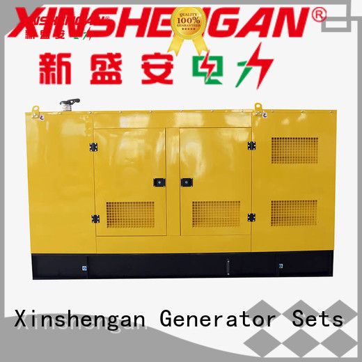 Xinshengan leading diesel generator supplier for machine