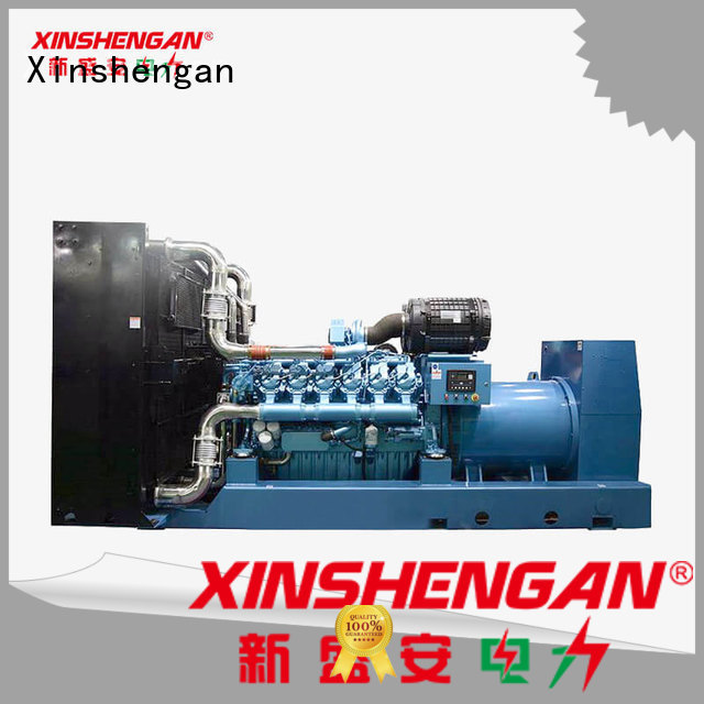 Xinshengan quiet diesel generator from China for power