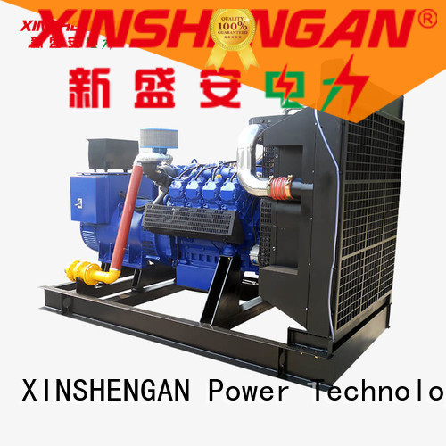 Xinshengan durable gas engine generator company for generate electricity