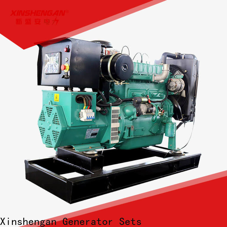 Xinshengan gas powered standby generators supply for van