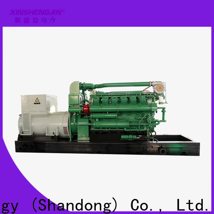 Xinshengan best price commercial natural gas generator with good price for machanical use