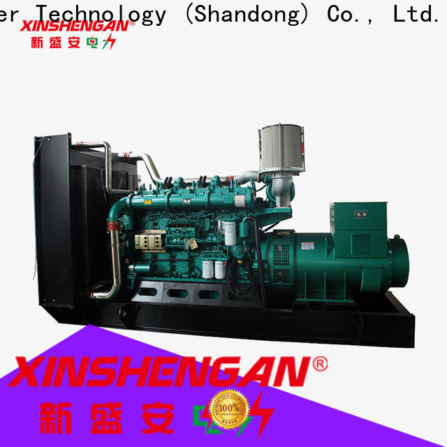Xinshengan high quality high efficiency diesel generator factory direct supply for generate electricity
