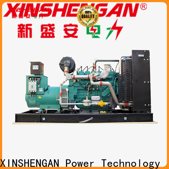 Xinshengan best commercial standby generator factory for power