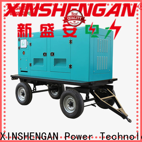 Xinshengan diesel consumption for 1000 kva generator with good price for van