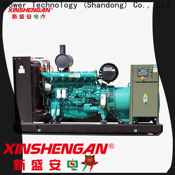 high quality genset diesel generator supplier for machanical use