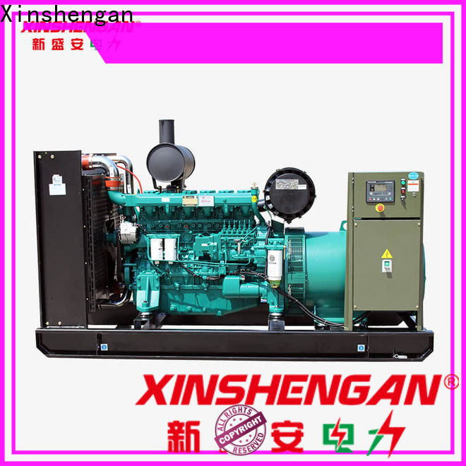 factory price diesel powered electric generator company for power