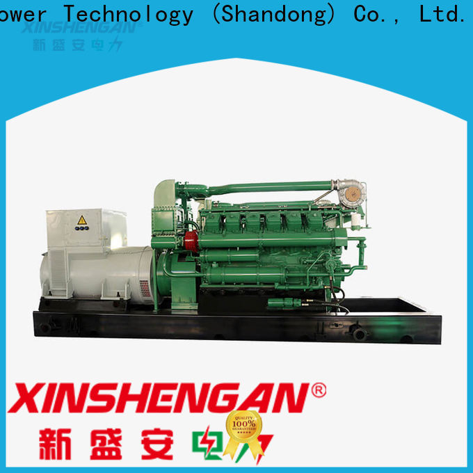 Xinshengan cheap gas generator supply for generate electricity