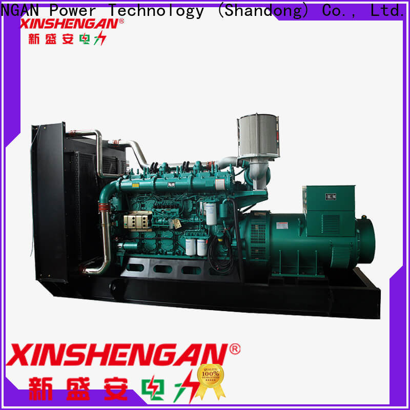 Xinshengan factory price quiet diesel generator factory for machine