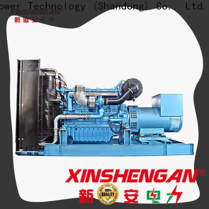 Xinshengan new diesel generators suppliers for generate electricity