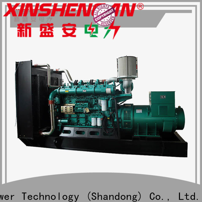 new diesel genset with good price for machine