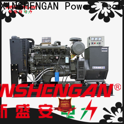 Xinshengan best price cheap diesel generator manufacturer for truck