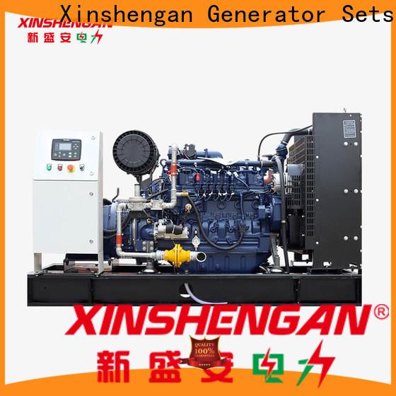 Xinshengan energy-saving natural gas powered emergency generators suppliers for power