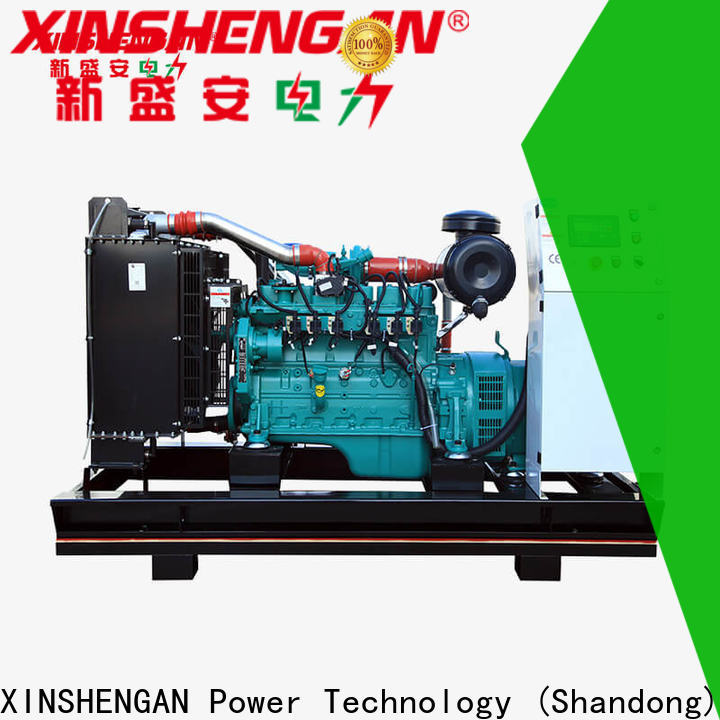 Xinshengan indoor natural gas generator suppliers for vehicle