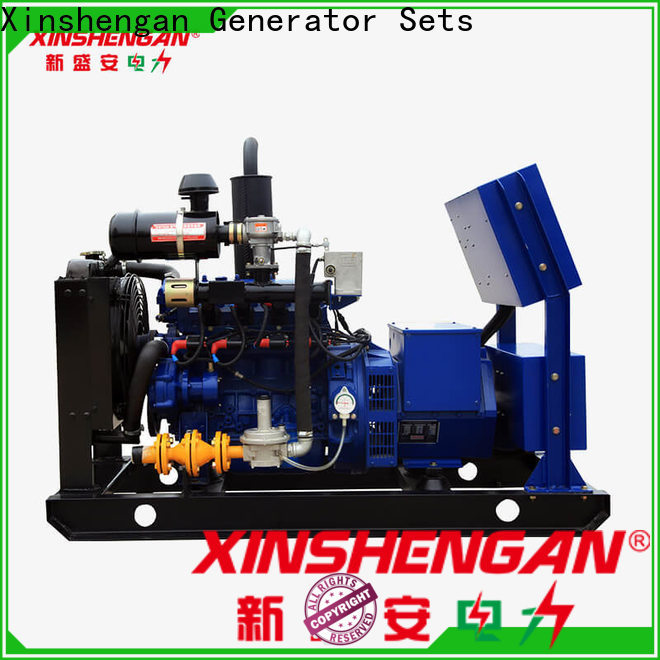 Xinshengan natural gas powered generators for home use supplier on sale