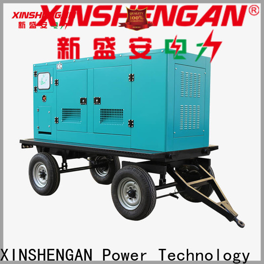 new silent diesel generator set from China for generate electricity