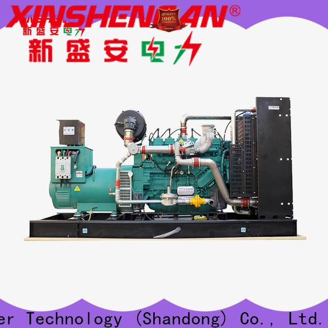 Xinshengan natural gas powered generator factory direct supply for power